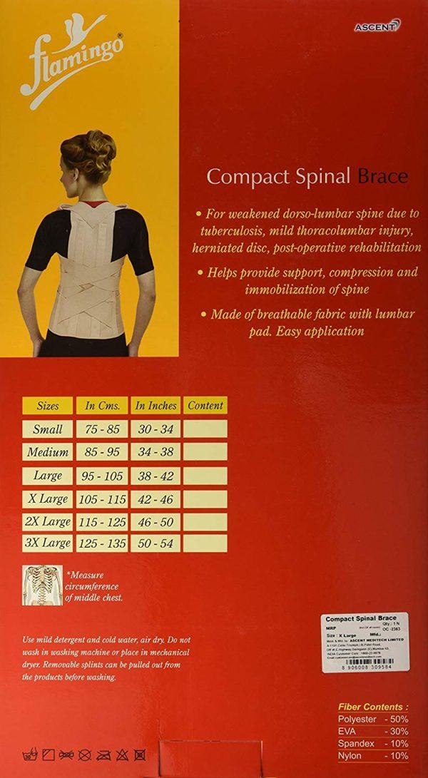 Flamingo Compact Spinal Brace