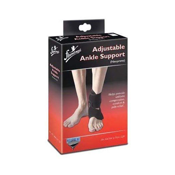 Flamingo Adjustable Ankle Support (Neoprene) - Universal