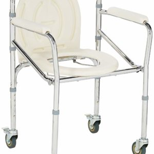 Flamingo Classic Commode Chair with Wheel