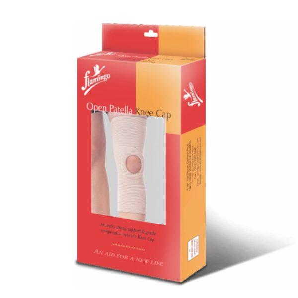 Flamingo Open Patella Knee Cap