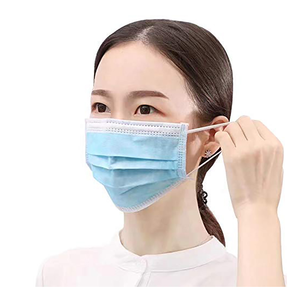 Non Woven Face Mask With Earloop - Pack of 10 Pcs