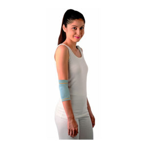 Vissco Elbow Support With Silicon Pad - Grey