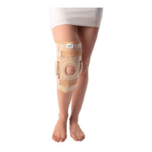 Vissco New Hinge Elastic Knee Support with Patella