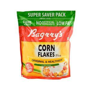 Bagrry's Original & Healthier Cornflakes Plus 800 gm