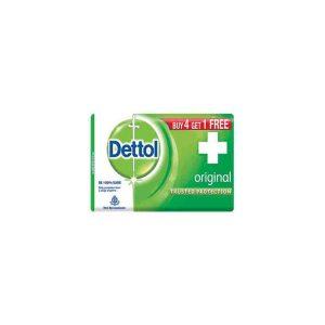 Dettol Original Soap (Pack of 4 x 125 gm)