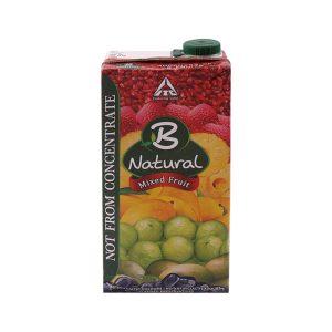 B Natural Mixed Fruit Juice 1 litre