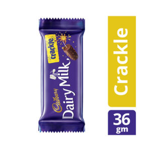 Cadbury Dairy Milk Crackle Chocolate Bar 36 gm