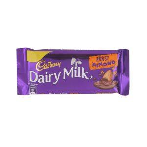 Cadbury Dairy Milk Roasted Almond Chocolate Bar 38 gm