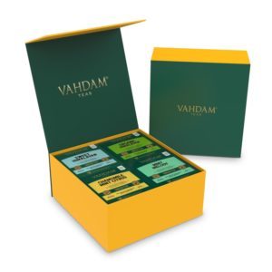 VAHDAM TEAS Green Tea Wellness Kit – 60 Tea Bags