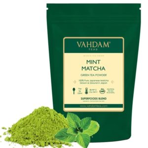 VAHDAM TEAS Mint Matcha Green Tea