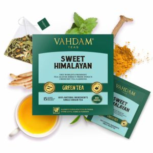 VAHDAM TEAS Sweet Himalayan Green Tea