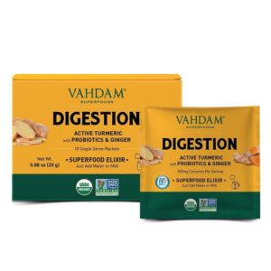 VAHDAM TEAS Turmeric Digestion Superfood Elixir
